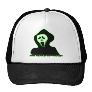 You Should Be Scared Mesh Hats
