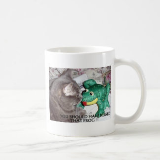 YOU SHOULD HAVE KISSED THAT FROG! COFFEE MUG