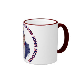 You Should Have Voted for John McCain Ringer Coffee Mug