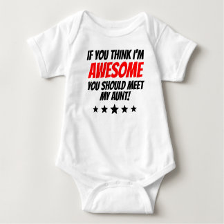 You Should Meet My Aunt Baby Bodysuit