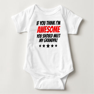 You Should Meet My Grandpa Baby Bodysuit