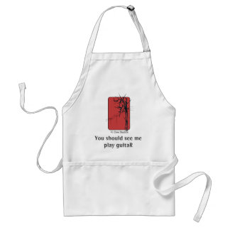 You Should See Me Play Guitar Aprons