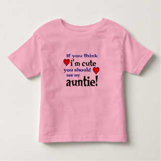 You should see my Auntie love heart t shirt