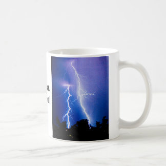 You should see what Caffeine does to me! Classic White Coffee Mug