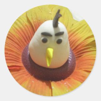 You Should walk your birds everyday Classic Round Sticker