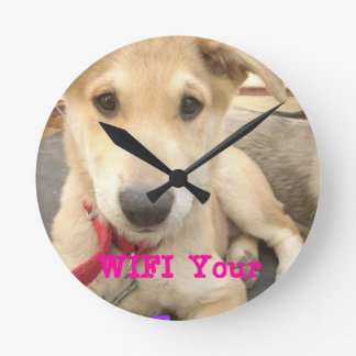 You Should WIFI Your Love Everyday Round Wallclock