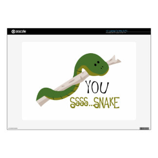 "You Snake Decals For 15"" Laptops"