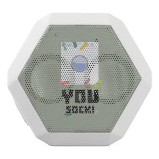 You Sock Funny Slogan Zwq53 White Bluetooth Speaker