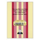 You Sparkle Like Fine Jewelry - Birthday Greeting Card