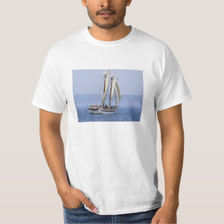 You Spend Time On Land - Traverse City Sailboat T-Shirt