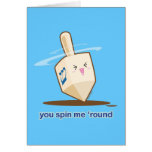 You Spin Me 'Round Card