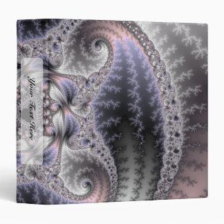 You Spin Me Round - Fractal Art 3 Ring Binder