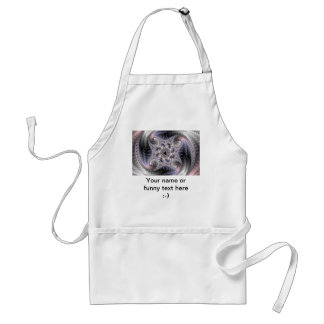 You Spin Me Round - Fractal Art Adult Apron