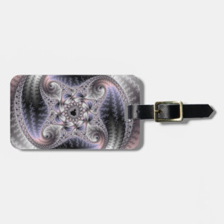 You Spin Me Round - Fractal Art Bag Tag