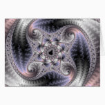 You Spin Me Round - Fractal Art Card