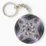You Spin Me Round - Fractal Art Keychain