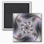 You Spin Me Round - Fractal Art Magnet