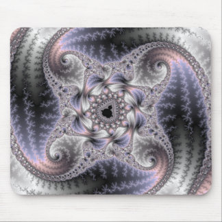 You Spin Me Round - Fractal Art Mouse Pad