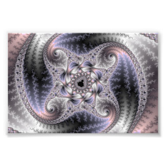 You Spin Me Round - Fractal Art Photo Print