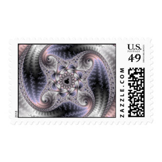 You Spin Me Round - Fractal Art Stamp