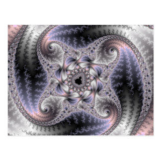 You Spin Me Round - Fractal Art Postcard