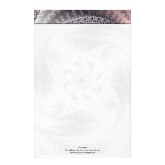 You Spin Me Round - Fractal Art Stationery