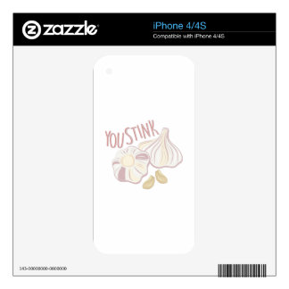 You Stink iPhone 4S Skins