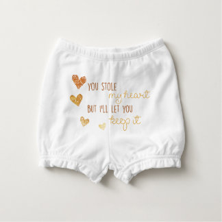 you stole my heart but i'll let you keep it diaper cover