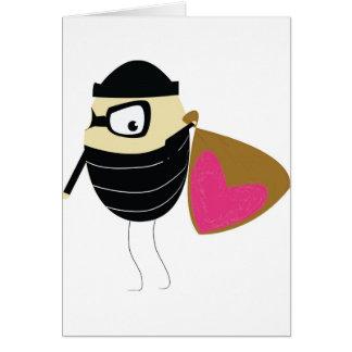 you stole my heart card