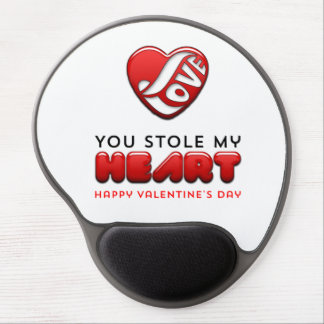 You stole my heart - Happy Valentine's Day Gel Mouse Pad