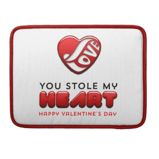 You stole my heart - Happy Valentine's Day Sleeve For MacBooks