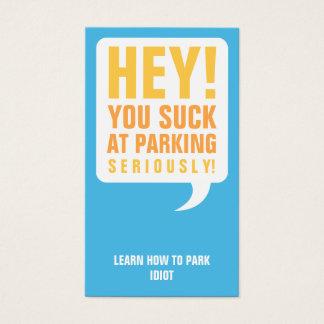 Funny<br />Parking Cards
