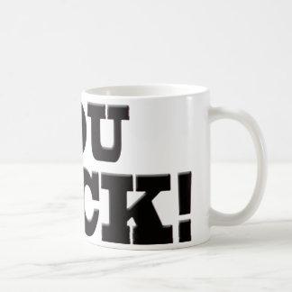 You Suck Coffee Mug