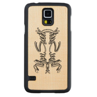 You Suck - subliminal Galaxy S5 maple wood cas Carved® Maple Galaxy S5 Slim Case