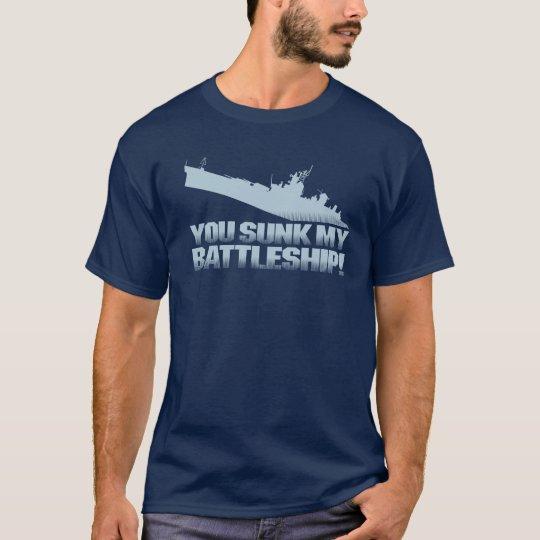 You Sunk My Battleship Retro Gamer Graphic T-Shirt