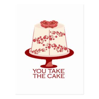 You Take The Cake Postcards