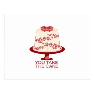 You Take The Cake Postcard