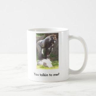 You talkin to me? coffee mug