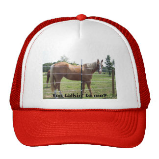 You talkin' to me? trucker hat