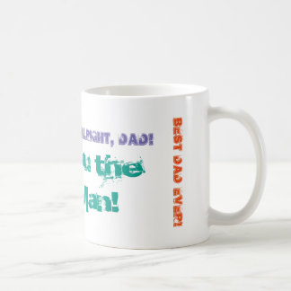 You the Man! Fun Text Father's Day Mug