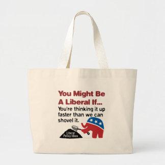 You think, we shovel bag