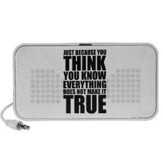 You Think You Know Speaker