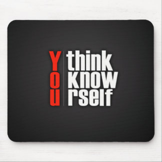 You Think You Know Yourself (FreeWallpaperBlog.com Mouse Pad