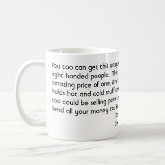 You too can get this unique mug that works for ...
