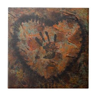 you touch my soul ceramic tile