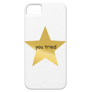 You tried. iPhone 5 case