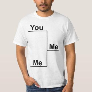You versus Me Bracket T-Shirt