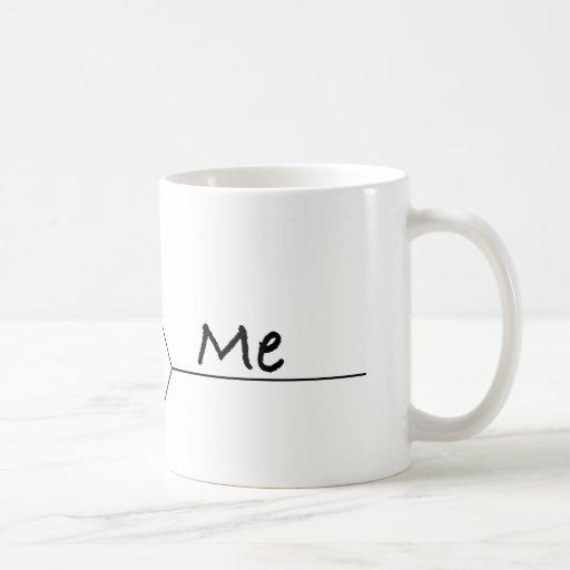 """You Vs. Me"" March Madness-Style Bracket Coffee Mug"