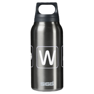 You W Anchor Funny Insulated Water Bottle
