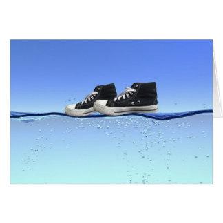 You Walk On Water Card
